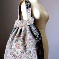 Bohemian tapestry bag, shoulder bag, large Boho bag, Gypsy bag, Hippie bag, Hobo bag, unique bag, OOAK