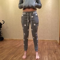 Kawaii Stars Cute Sweatpants