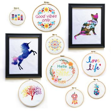 Vibrant Dreams Cross Stitch Pattern Set - All Patterns