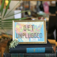 GET UNPLUGGED - VINTAGE HOME DECOR