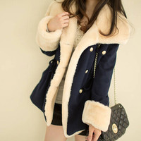 womens winter autumn casual jacket girl warm coat outwear gift 178