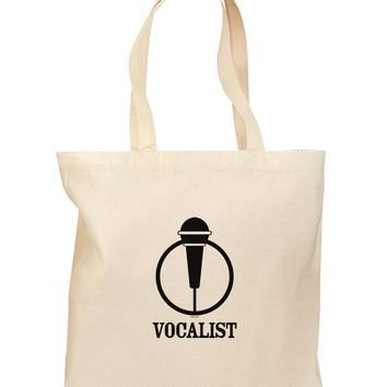Vocalist Grocery Tote Bag