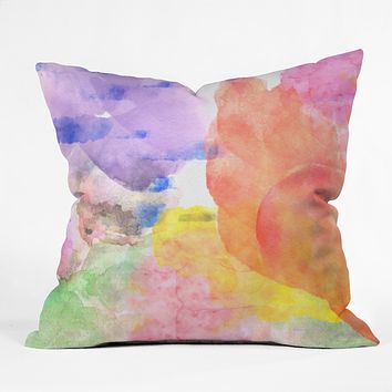 Hello Sayang Come Fly Away Throw Pillow