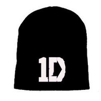 Beanie cap One Direction New White 1D Up All Night CD Music Ski hat headwear