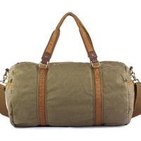 #30317 Vintage Canvas Gym Bag