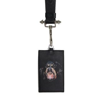 Givenchy Rottweiler Badge Holder