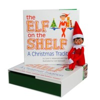 The Elf on the Shelf® A Christmas Tradition with Dark Skin Tone Girl Elf