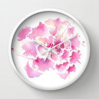 Embrace Wall Clock by Susaleena