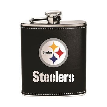 Pittsburgh Steelers  Flask - Stainless Steel