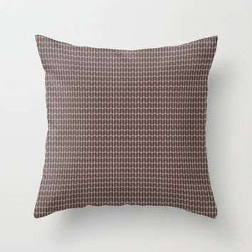 Faux Knit Pillow Cover - Many Colors and Sizes