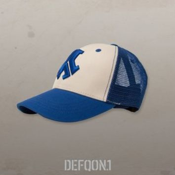 Defqon.1 Trucker Cap Blue/White | Q-dance Store