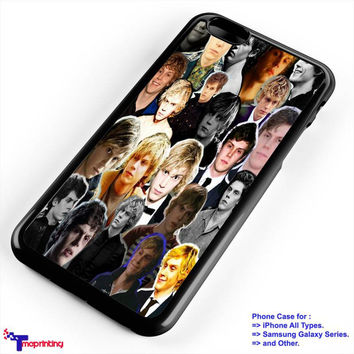 Evan peters American Horror Story - Personalized iPhone 7 Case, iPhone 6/6S Plus, 5 5S SE, 7S Plus, Samsung Galaxy S5 S6 S7 S8 Case, and Other