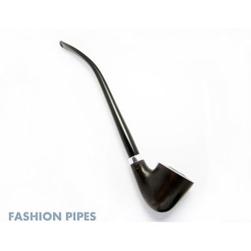 """Exclusive """"HOBBIT"""" Long Tobacco Pipe Churchwarden, Smoking Pipe of PEAR Wood Pipe 9.8''  Wooden Pipe Handcrafted, Designed for Pipe Smokers"""