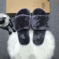 DCCK8X2 UGG: wool in one word drag slippers
