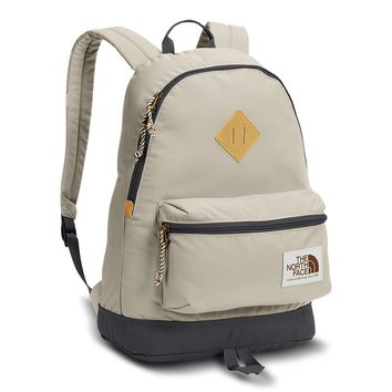 Berkeley Backpack in Peyote Beige & Asphalt Grey by The North Face