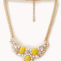 Sweet Talk Bib Necklace