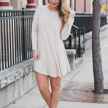 Shape Shifter Dress - Oatmeal