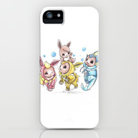 Bursting Bubbles iPhone & iPod Case by Randy C