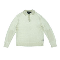 Polo Ralph Lauren Mens Linen Knit Shawl-Collar Sweater