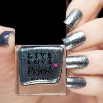 Live Love Polish Shark Skin Nail Polish (Discovery Shark Week Collection)