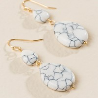Christina Double Stone Drop Earring