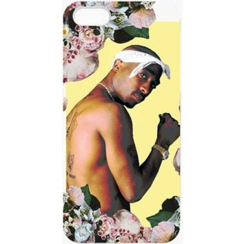 FLORAL TUPAC IPHONE 5 CASE. - NEW