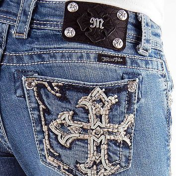 Miss Me Cross Pocket Boot Stretch Jean - Women's Jeans | Buckle