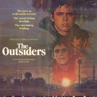 The Outsiders Poster Movie D 11x17 C. Thomas Howell Matt Dillon Ralph Macchio Patrick Swayze MasterPoster Print, 11x17