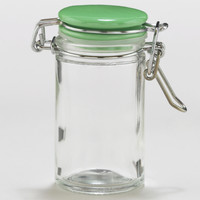 Spice Jars with Green Ceramic Lids, Set of 6 - World Market