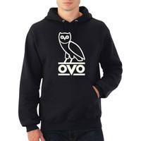 Drake OVO Owl Hoodie // Unisex Men Women Man Woman // Hoodies // Multi Colors and Sizes Available