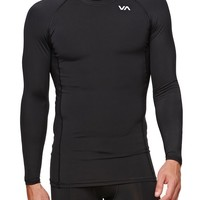 RVCA - Virus Compression Long Sleeve T-Shirt - Mens Tee - Black