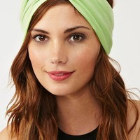 Mint Turband in  Accessories Hair + Hats at Nasty Gal