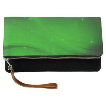 Emerald Wave Clutch