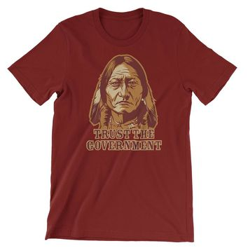 Trust the Government Sitting Bull Men's T-Shirt