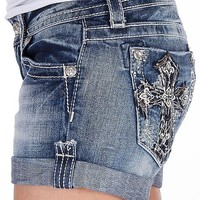 Miss Me Cross Stretch Short - Women's Shorts | Buckle