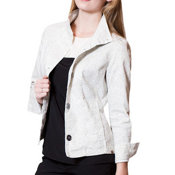 PrAna Kara Denim Jacket - White
