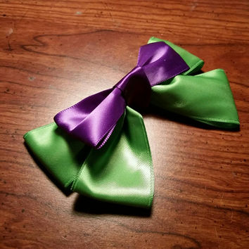 Handmade Marvel's Hulk inspired hair bow