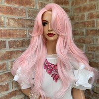 sale Pink Hair Wig | The Best 0419 48