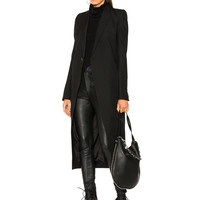 Rick Owens Knife Coat in Black | FWRD