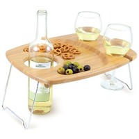 Picnic Time Wine Table for Two - Mesavino
