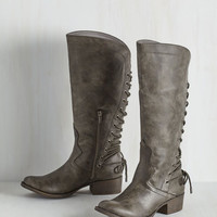 Rustic Stride My Best Boot in Pewter