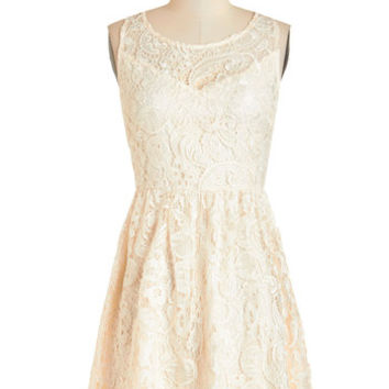 ModCloth Mid-length Sleeveless A-line What Makes Me Romantic Dress