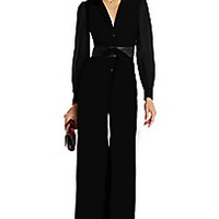 DVF Cathy Two Crepe Jumpsuit