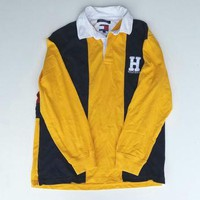 Tommy Hilfiger Polo Size Large, Tommy Jeans Long Sleeve Shirt