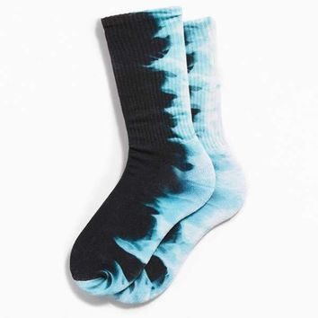 Flame Dye Sport Sock | Urban Outfitters