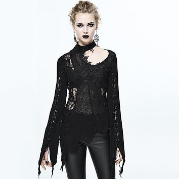 The Raven Lace Top