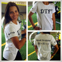 Womens Tshirt. One Of The Crossfit Girls- FRAN. Work Out Tshirt.
