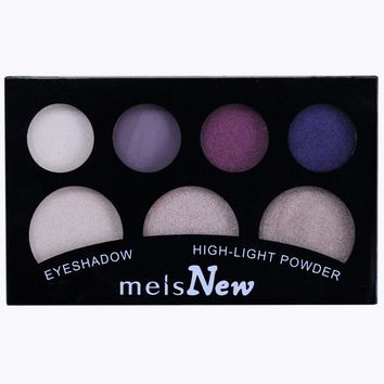 Makeup Palette 7 Colors Eyeshadow With Eye Primer Luminous Eye shadow Palette Band Makeup cosmetics Highlighters eye shadow 0708