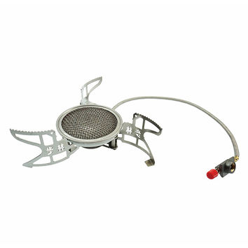 Bulin Split Outdoor stove Mini Foldable Camping Aluminum Windproof Gas Stove Cooker Outdoor Infrared Stove