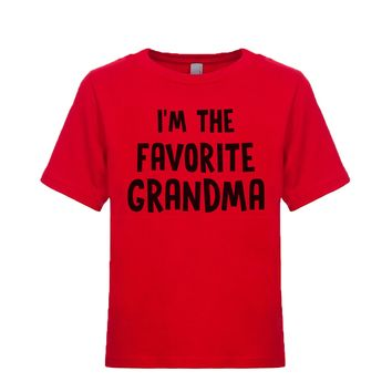 I'm The Favorite Grandma Unisex Kid's Tee